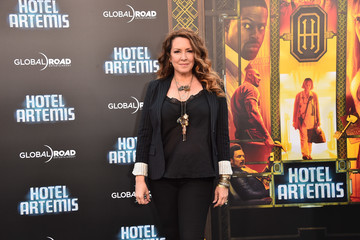 Joely Fisher Global Road Entertainment's 'Hotel Artemis' Premiere - Arrivals