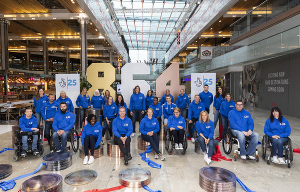 National Lottery 25 [team,disabled sports,championship,team sport,wheelchair sports,ice hockey,competition event,wheel,medallists,lee pearson,chris hoy,funding,effect,national lottery,birthday,olympic,paralympic,medal wins]