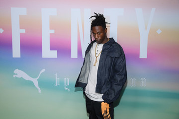 Joey Badass FENTY PUMA by Rihanna Spring/Summer 2018 Collection - Front Row + Arrivals
