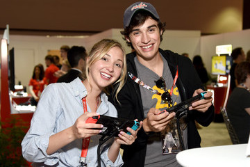 Joey Bragg Nintendo Hosts Celebrities at 2017 E3 Gaming Convention