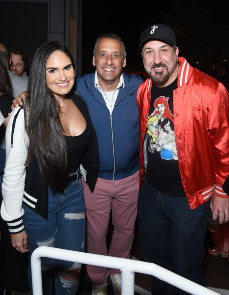 Entertainment Weekly Hosts Its Annual Comic-Con Bash - Inside [entertainment weekly hosts its annual comic-con bash at float,san diego in celebration of comic-con 2019 - inside,event,fashion,fun,outerwear,smile,party,photography,t-shirt,leisure,fashion accessory,joey fatone,r,hard rock hotel,san diego,california,entertainment weekly,hbo,comic-con bash]