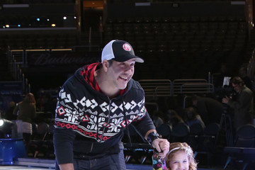 Joey Fatone Celebs Go Ice Skating at 'Rockin' Ever After'