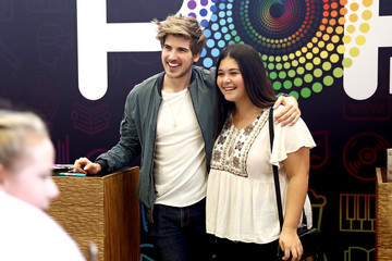 Joey Graceffa Entertainment Weekly's PopFest