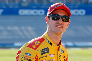 Joey Logano Talladega Superspeedway - Day 2