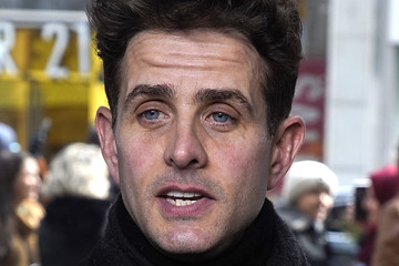 Joey McIntyre New Kids On The Block Visit 'Extra'