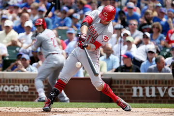 Joey Votto Cincinnati Reds v Chicago Cubs