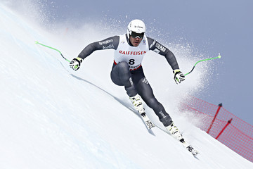 Johan Clarey FIS World Ski Championships - Men's and Women's Downhill Training