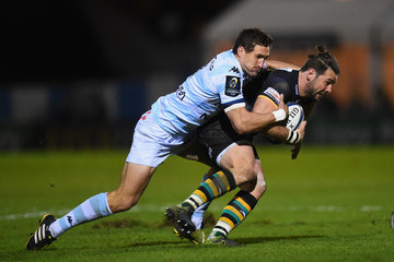 Johannes Goosen Racing 92 v Northampton Saints - European Rugby Champions Cup
