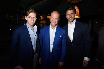 Johannes Huebl GQ Milan Fashion Week Party - June 2018