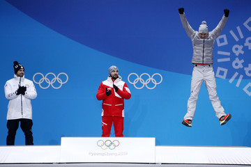 Johannes Ludwig Medal Ceremony - Winter Olympics Day 3