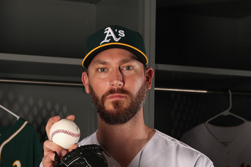 John Axford Oakland Athletics Photo Day