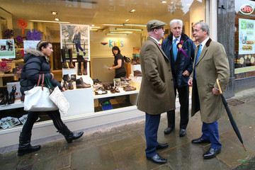 John Bickley Nigel Farage Visits Oldham in Preparation For the By-Election Next Month