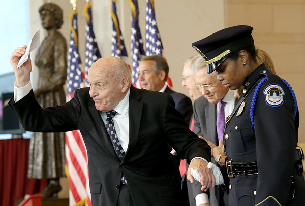 Congress Holds Gold Medal Ceremony Honoring WWII Monuments Men