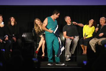 John C. McGinley Sarah Chalke Vulture Festival Presented By AT&T - DAY 1