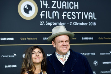 John C. Reilly Alison Dickey 'The Sisters Brothers' Premiere - 14th Zurich Film Festival