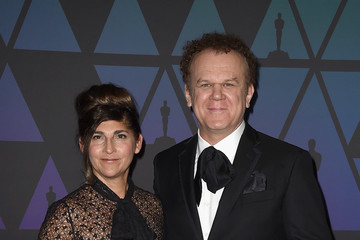 John C. Reilly Alison Dickey Academy Of Motion Picture Arts And Sciences' 10th Annual Governors Awards - Arrivals