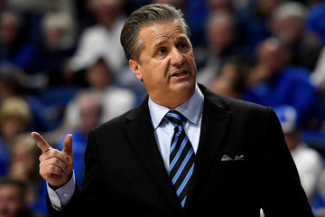 John Calipari Illinois-Chicago v Kentucky