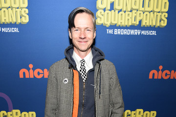 John Cameron Mitchell Opening Night Of Nickelodeon's 'SpongeBob SquarePants: The Broadway Musical' - Arrivals & Curtain Call