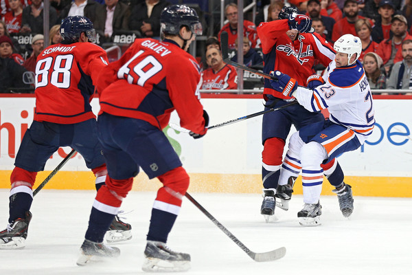 Edmonton Oilers v Washington Capitals