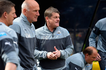 John Carver Newcastle United v West Ham United - Premier League