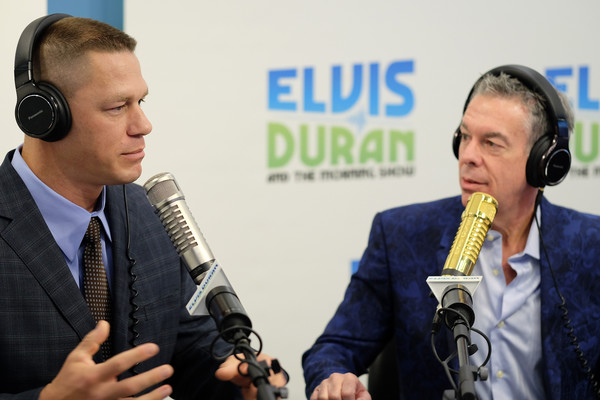 John Cena Visits 'The Elvis Duran Z100 Morning Show'