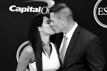 John Cena Nikki Bella The 2017 ESPYS - Arrivals