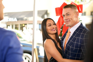 John Cena Nikki Bella Premiere of Paramount Pictures' 'Daddy's Home 2' - Red Carpet