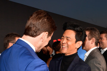 "John Cho Premiere Of Universal Pictures' ""Blockers"" - Red Carpet"