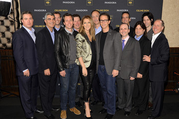 John Fleckenstein Celine Dion Performs in NYC