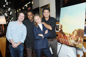 John Gallagher Jr. Destin Daniel Cretton 'Short Term 12' Screening in NYC