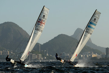 John Gimson Cecilia Carranza Aquece Rio International Sailing Regatta