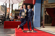 Actors John Goodman and Jeff Bridges attend a ceremony honoring John Goodman with the 2,604th Star on The Hollywood Walk of Fame on March 10, 2017 in Hollywood, California.
