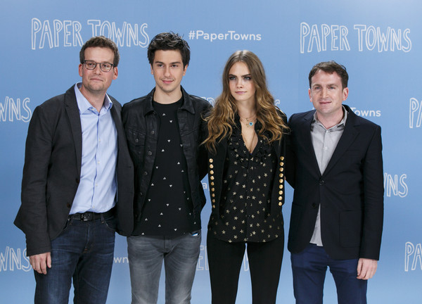 John Green And Cara Delevingne Photos Photos Paper Towns Actors