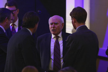John Howard United States Vice President Joe Biden Visits Australia