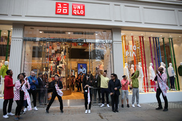 John Jay UNIQLO 311 Oxford Street Store Opens to the Public