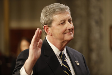 John Kennedy The Vice President Swears in Members of the 115th Congress
