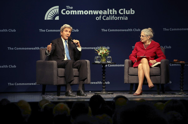 John Kerry Addresses San Francisco's Commonwealth Club