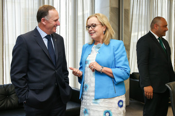John Key Judith Collins Prime Minister John Key Attends Ceremony for Appointment of New Minister