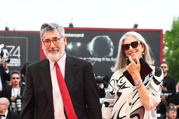 John Landis Award Ceremony Arrivals - 74th Venice Film Festival