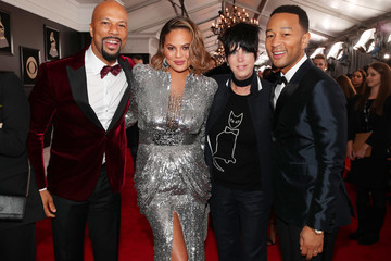 John Legend Common 60th Annual GRAMMY Awards - Red Carpet