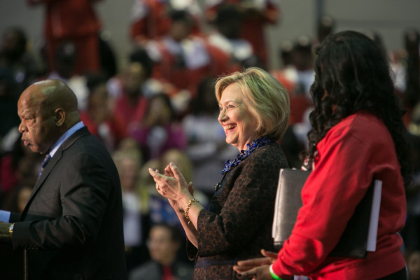 Hillary Clinton Hosts 'African Americans For Hillary' Rally in Atlanta