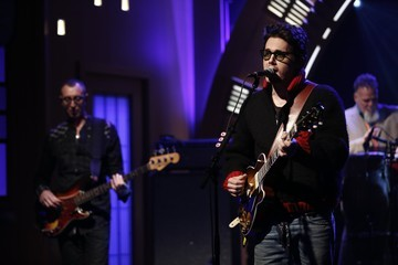 John Mayer Stars Stop by 'Late Night with Seth Meyers'