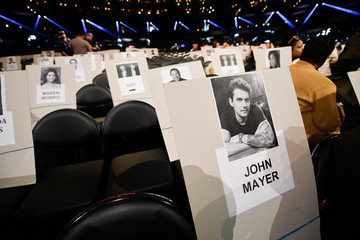 John Mayer 61st Annual Grammy Awards Red Carpet Roll Out And Preview Day