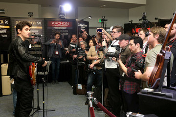 John Mayer The 2017 NAMM Show Media Preview Day