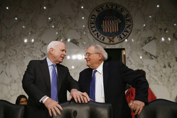John McCain Senate Holds Hearing on High Speed Trading