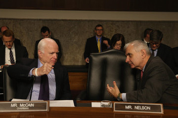 John McCain Senate Armed Services Committee Holds Hearing on US Policy in Iraq and Syria