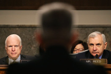 John McCain Senate Holds Confirmation Hearing For Commander of US Forces In Afghanistan