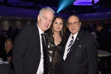 John McEnroe Patty Smyth Songwriters Hall Of Fame 49th Annual Induction And Awards Dinner - Backstage