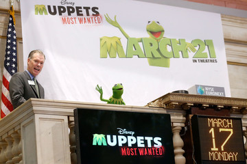 John Merrill The Muppets Ring the NYSE Opening Bell