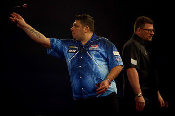 John Michael 2016 William Hill PDC World Darts Championships - Day Five